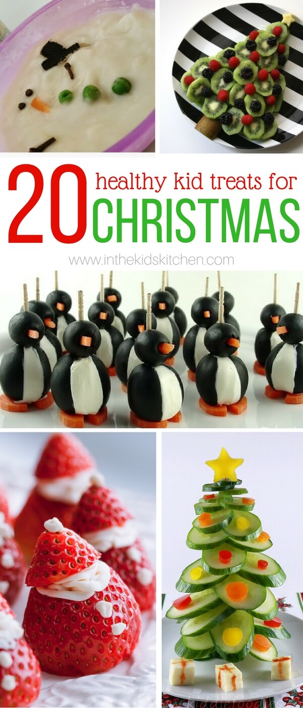 20 Healthy Christmas Kids Snacks - In the Kids\' Kitchen