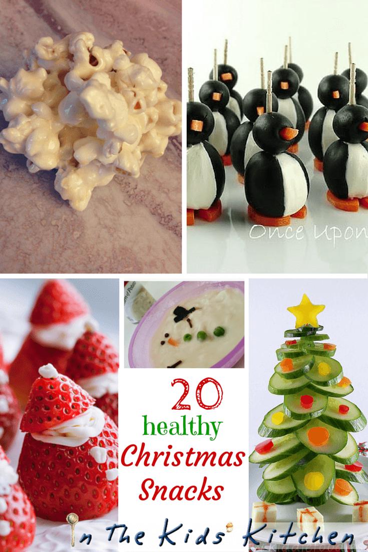 20 healthy Christmas Snack Ideas