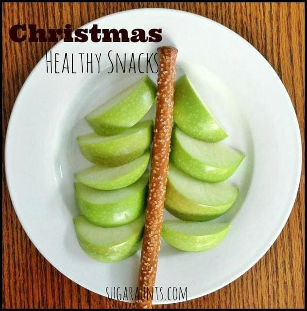 christmas tree snack idea