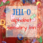Jell-O Alphabet Play