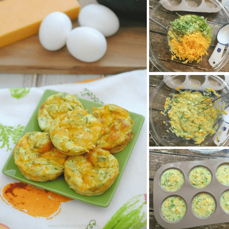 How to make these easy breakfast egg muffins with kids in the kitchen