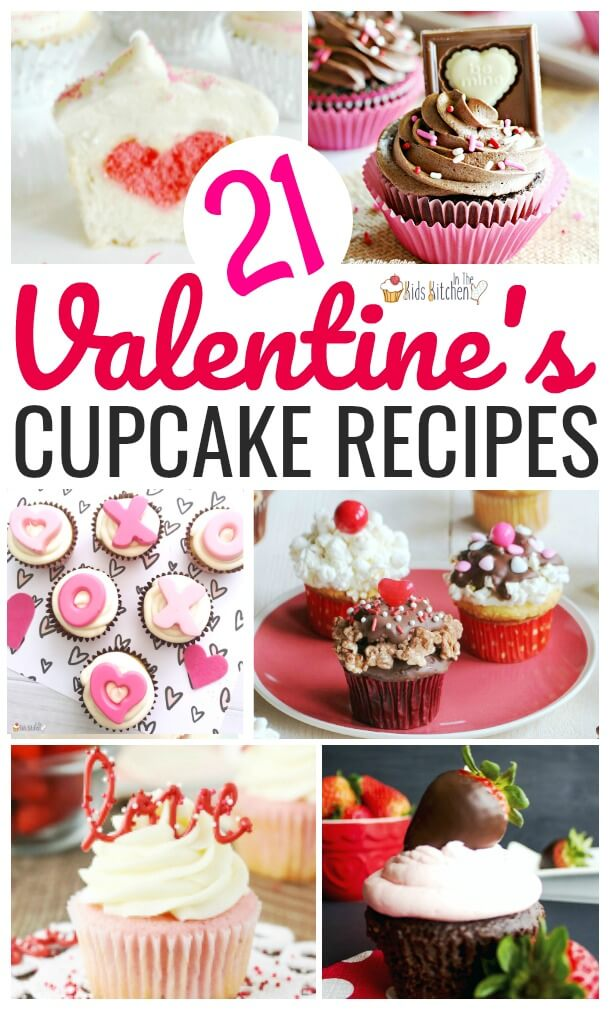 The Sweetest collection of Valentine's Day Cupcakes from our favorite food bloggers!