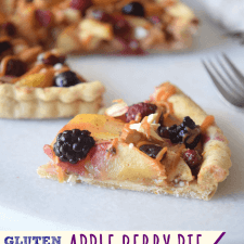 Gluten Free Apple Berry Pie
