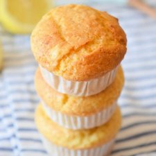 Sugar Free Lemon Muffins