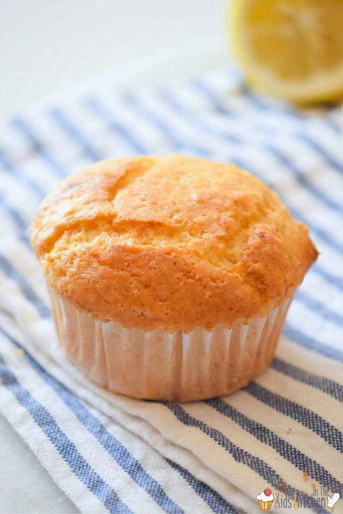 A perfectly light and fluffy lemon ricotta muffin recipe made with no refined sugar - just delicious flavor without the junk