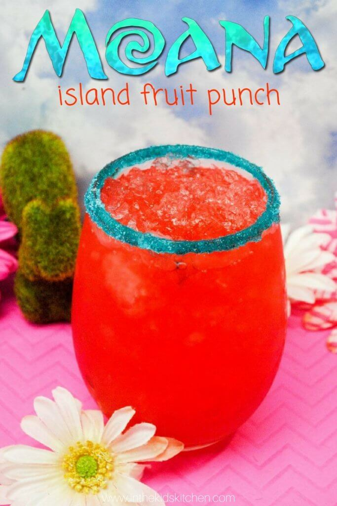 Moana Hawaiian Punch Recipe In The Kids Kitchen