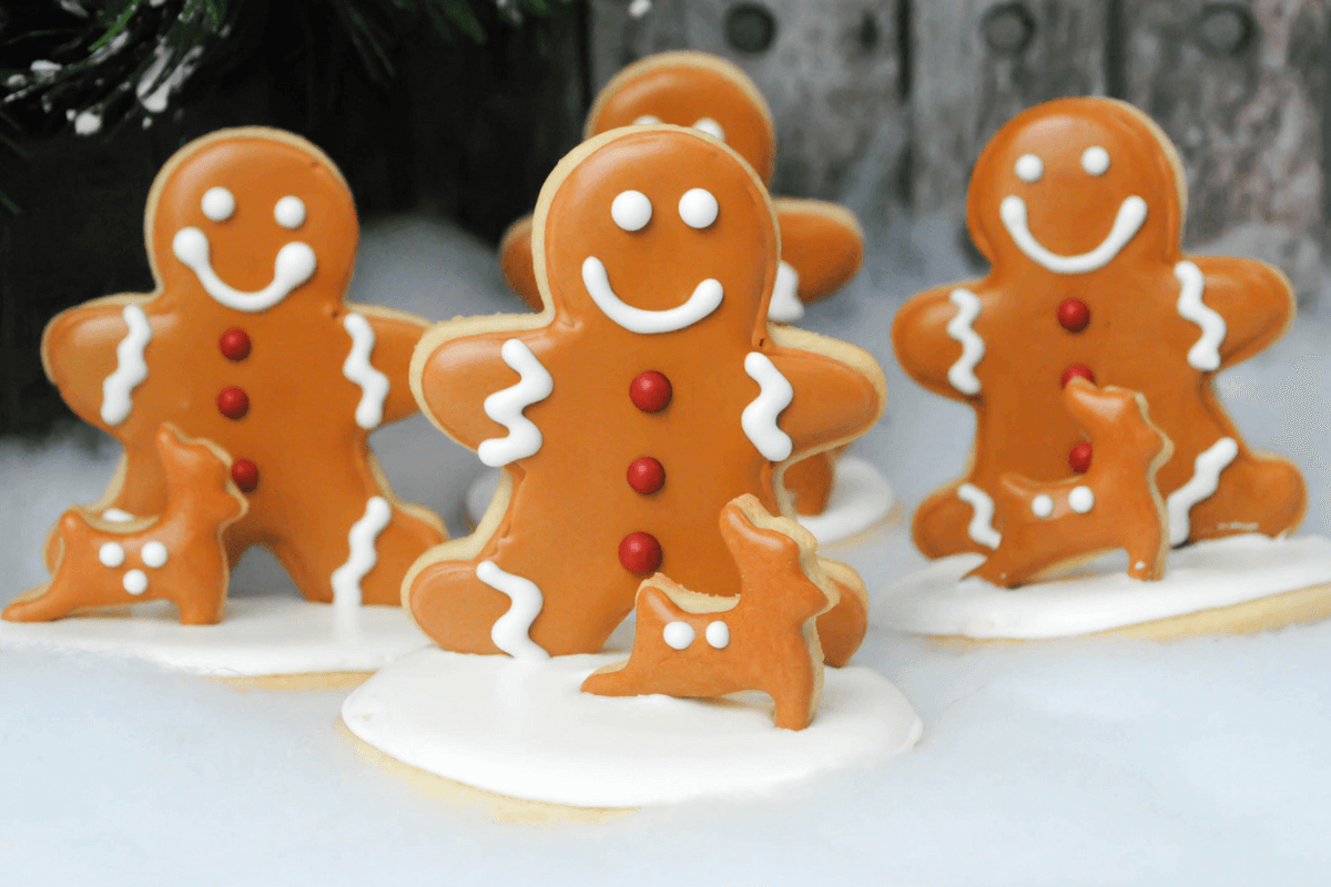 Gingerbread People Revert To Men