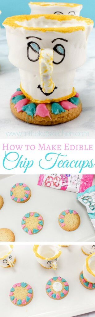 photo regarding Chip Teacup Printable known as Chip the Teacup No-Bake Cookie Snacks