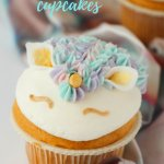 Pastel & Gold Unicorn Cupcakes