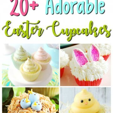 20 Absolutely Adorable Easter Cupcakes for Kids