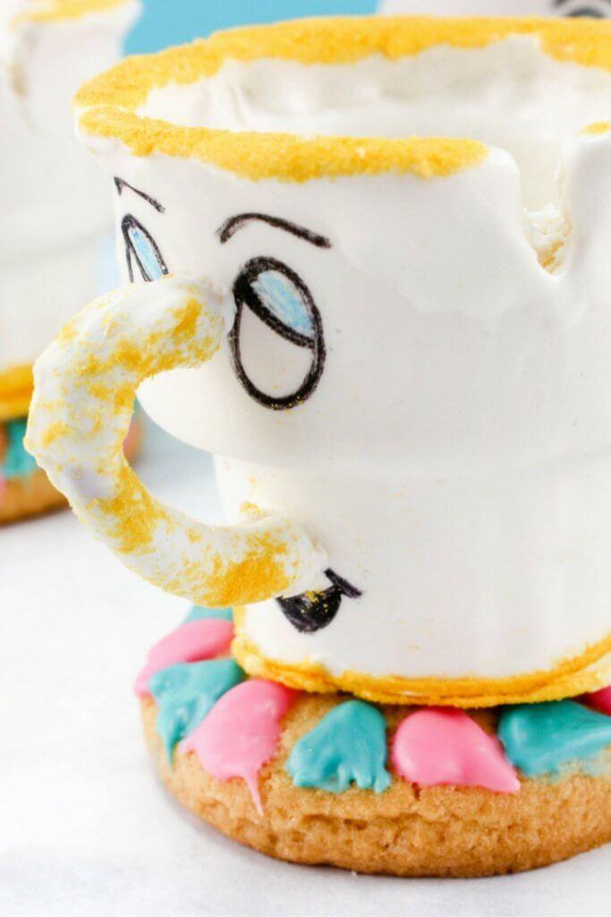 image regarding Chip Teacup Printable named Chip the Teacup No-Bake Cookie Snacks