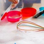 Soap Foam Sensory Bin