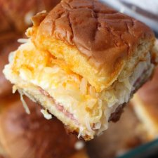 Baked Reuben Sliders Recipe