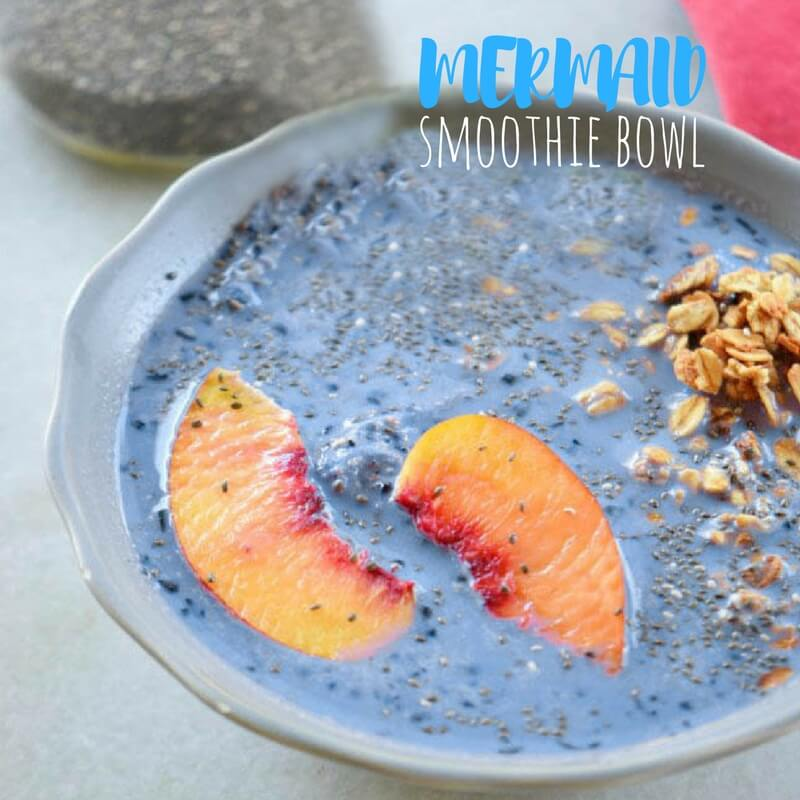 How To Make A Blueberry Smoothie Bowl Kids Will Love