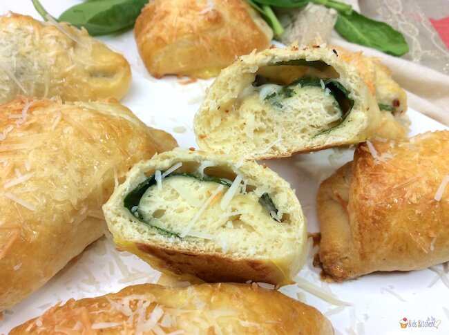A quick and easy copycat recipe of Starbucks' delicious flaky spinach croissants. Enjoy this savory snack anytime and save money making them at home!