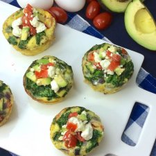 Veggie Breakfast Egg Cups