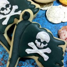 Pirate Flag Cookies Recipe
