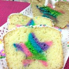 Twilight Sparkle Hidden Star Surprise Rainbow Bread