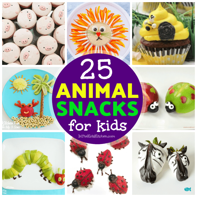 Whether it's making snack time fun or creating a wow-worthy party spread, little eaters are guaranteed to go wild over kids snacks that look like animals!