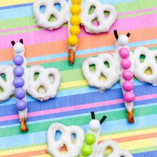 Rainbow Dragonfly Pretzels Recipe