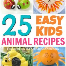 25 Cutest Kids Snacks That Look Like Animals