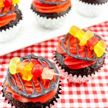 Summer Grill Cupcakes
