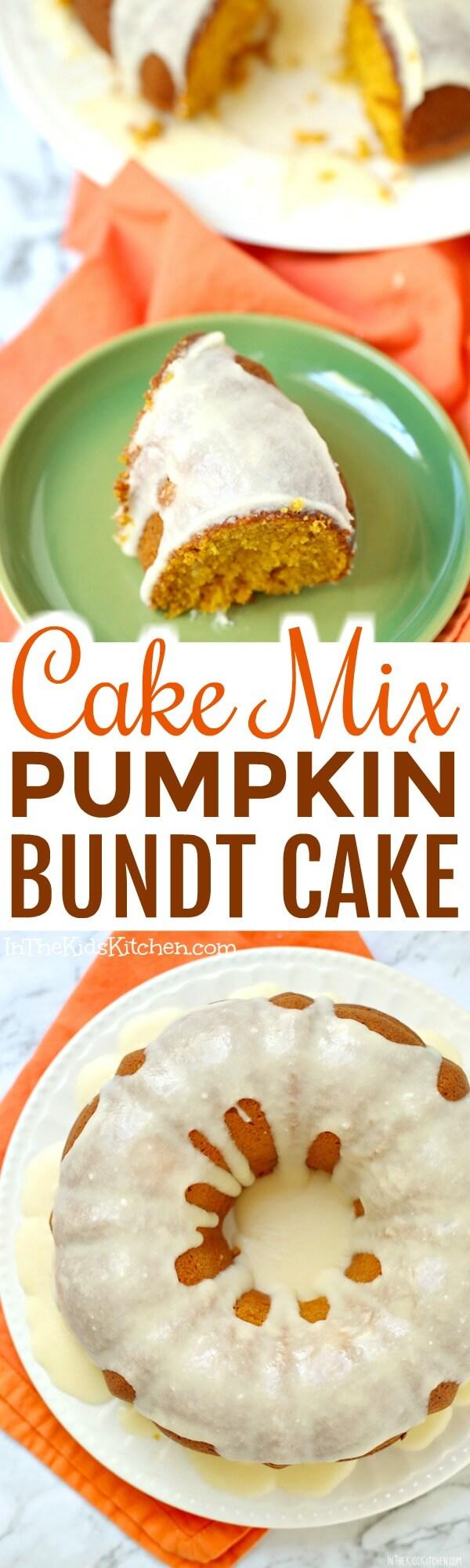 Yellow Cake Mix And Pumpkin Puree
