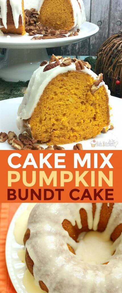The Perfect Pumpkin Bundt Cake! (with a cake mix shortcut so it's easier than ever to make!) Click for video recipe tutorial!