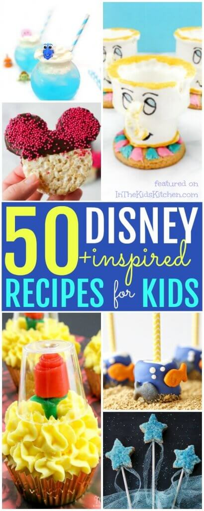 The ultimate collection of Disney recipes for kids!