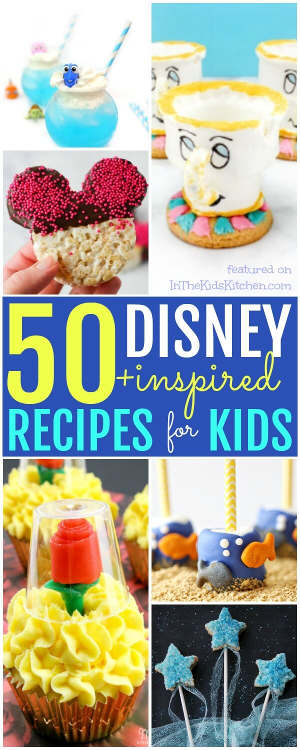 The Ultimate Collection Of Disney Recipes For Kids