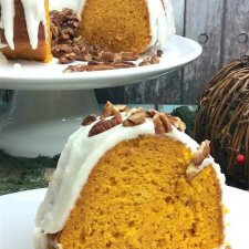 Cake Mix Pumpkin Bundt Cake (with Video)