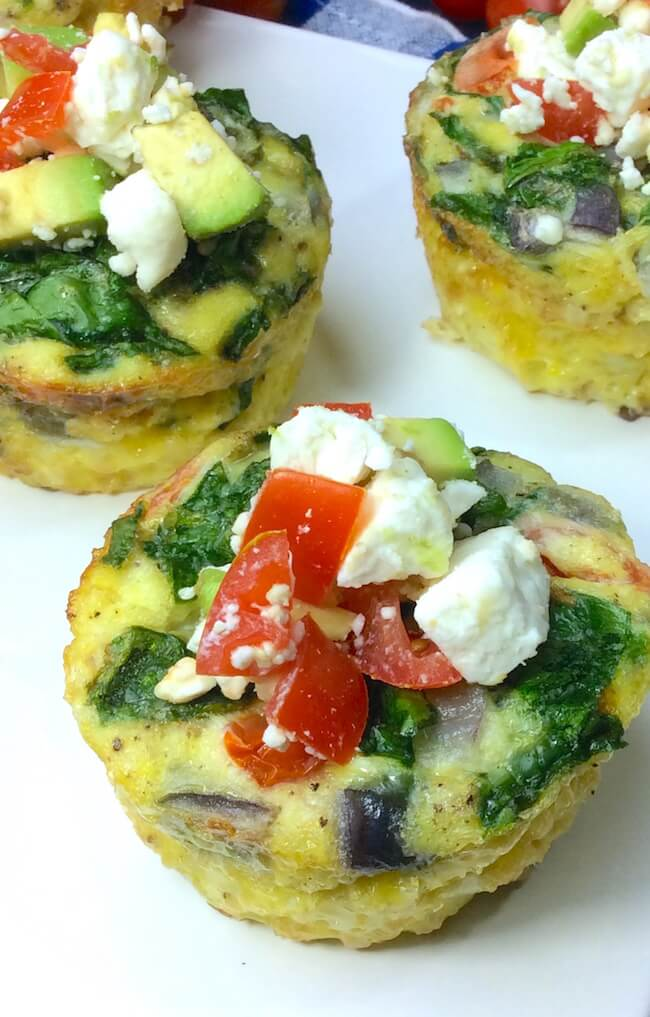Easy Protein-Packed Veggie Egg Cups