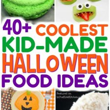 40+ Creepy Cool Kid-Made Halloween Snacks