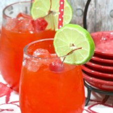 The BEST Copycat Sonic Cherry Limeade Recipe