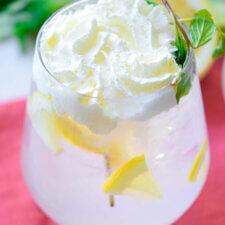 Homemade Sparkling Lemonade Recipe