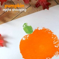 Pumpkin Apple Stamping