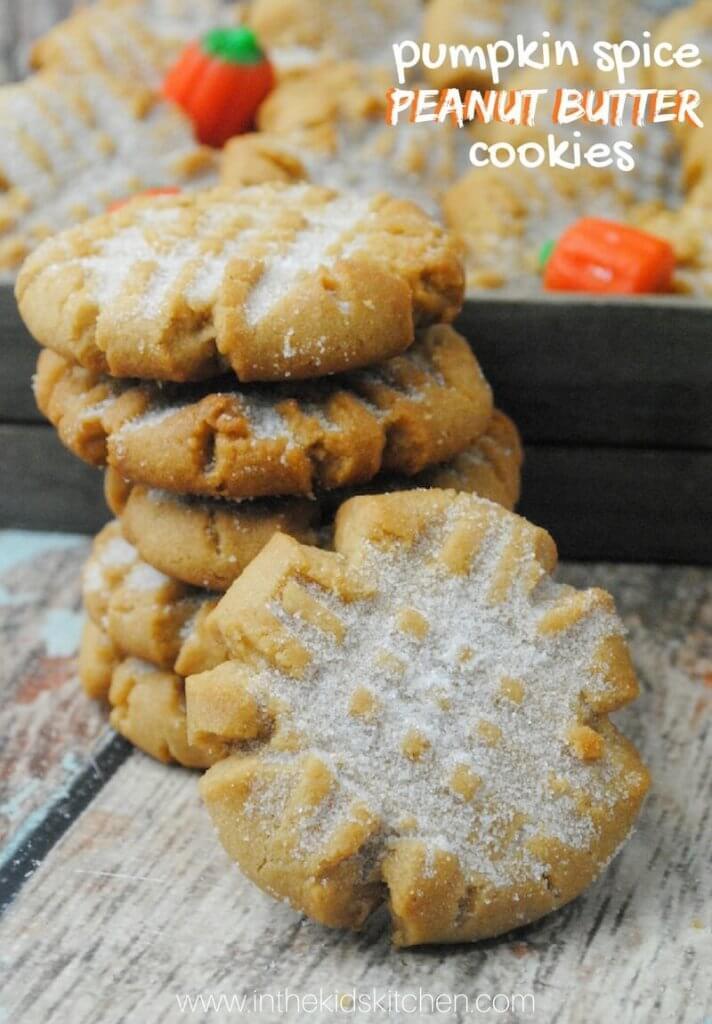 Pumpkin Spice Peanut Butter Cookies Recipe