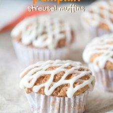 Gluten Free Pumpkin Streusel Muffins