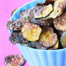Crispy Homemade Baked Zucchini Chips