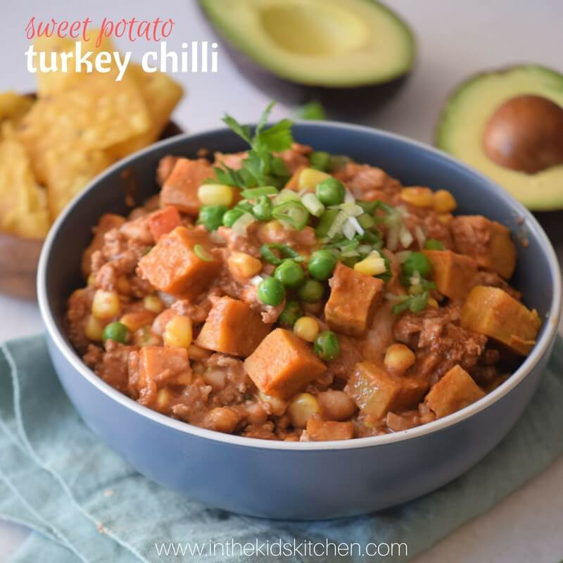 heart-healthy turkey chili