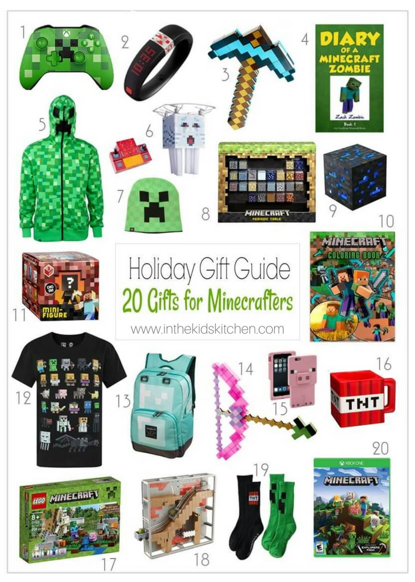 20 Totally Awesome Minecraft Gift Ideas For Kids