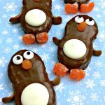 Nutter Butter Penguin Cookies