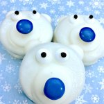 Oreo Polar Bear Cookies