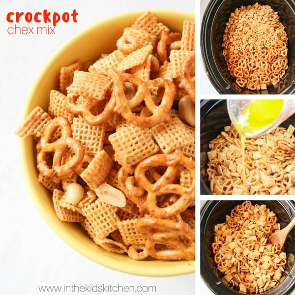 Easy honey glazed chex mix in the kids kitchen if youre new here you may want to subscribe to my rss feed thanks for visiting forumfinder Choice Image