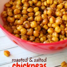 Crunchy Roasted Chickpeas Snack Recipe