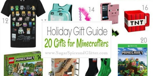 Gifts for Minecraft fans!