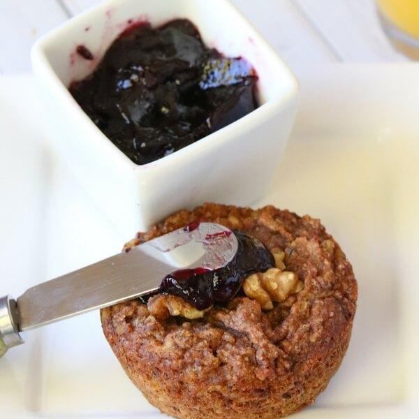 Healthy Oatmeal Muffins (Gluten Free)