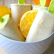 Dairy Free Cashew Milk Creamsicles