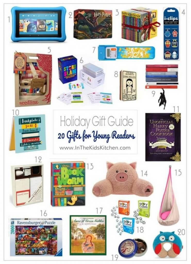 Want to get something besides books for your young reader? Be sure to bookmark this list of handy and helpful book lovers gifts!