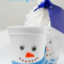 Snowman Hot Chocolate Gift Set for Kids